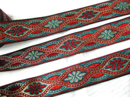 B204 lfm,ca.32mm breit Orientalische Borte in verschiedenen Farben