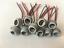 miniatuur 1 - 10XConnectors Socket Bulb Light Harness PigTail T10 168 194 rubber wedge LED New