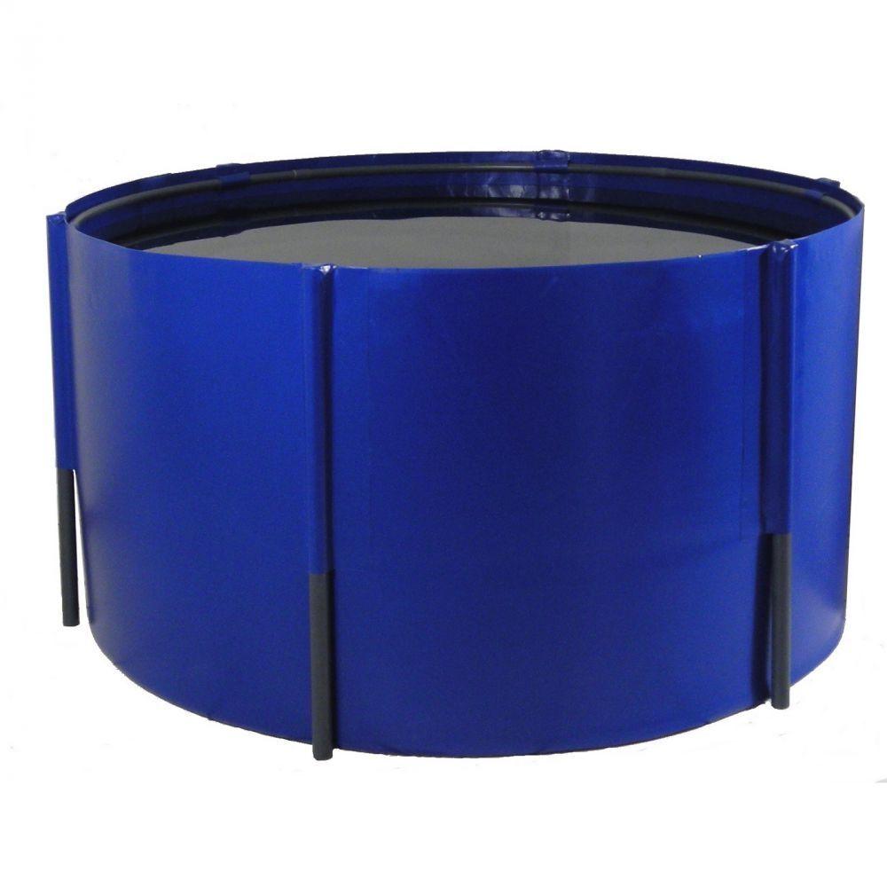 Faltbecken 275 x 100 CM, 5.900 Litri, blu o nero