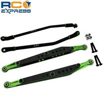Hot Racing Amj5605 Carbon Fiber Graphite Rear Link Set Green Yeti Hraamj5605