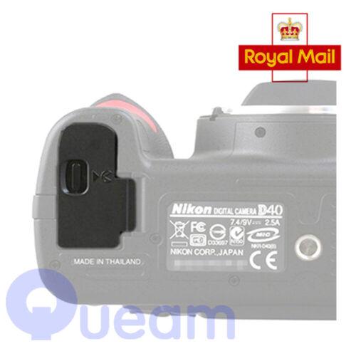 Cubierta de Batería Puerta Tapa Tapa Repuesto Para Nikon D40 D40X D60 D3000 Reino Unido vender
