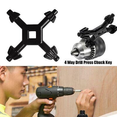 4 Way Drill Press Chuck Drill Locking and Unlocking Universal Combination Tool