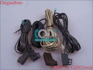 Anschlusskabel-TAE-Siemens-Optiset-E-fuer-Hipath-ISDN-ISDN-Telefonanlage-4-Stueck