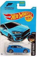 2016 Hot Wheels #90 Night Burnerz '16 Ford Focus RS