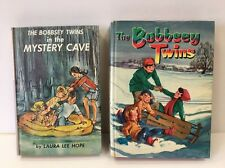 Vintage Bobbsey Twins Books Mystery Cave Merry Days Inside And Out Laura Hope