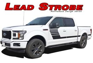 2016 2017 2018 2019 Ford F 150 Stripes Decals Lead Foot Se Door