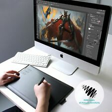 """Huion New 1060 Plus Graphics Drawing Tablet 10X6.25""""USB Pen Table 8G Memory Card"""