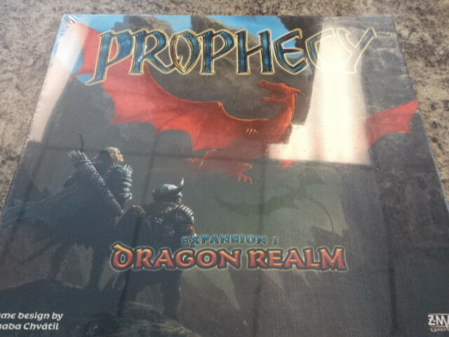 Prophecy Dragon Realm Expansion - Z-Man Games Board Game New