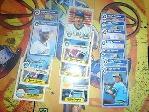 Brewers-Baseball-18-Card-Lot-Pre-1990-Cooper-Fingers-More