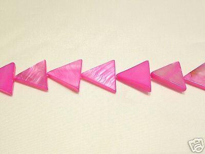 bnsp12 cerise triangle 10 x naturelle teints les perles