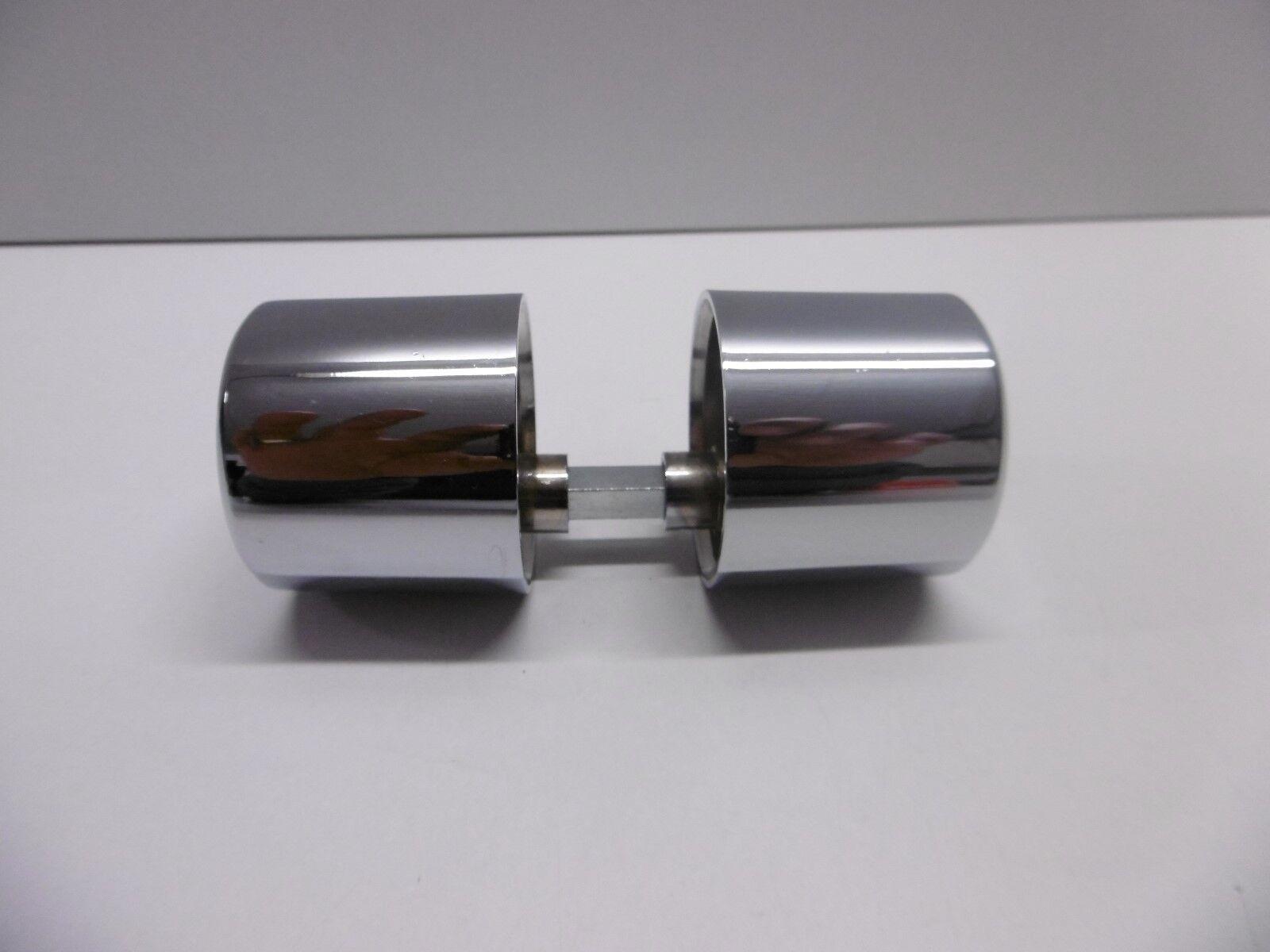 Poignée bouton pour serrure LAGUNE porte en verre clarit STEMBLER