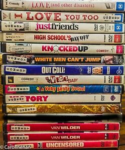 DVD-Bulk-Lot-Choose-Your-Titles-Genres-from-drop-down-list