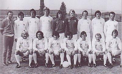 LEEDS UNITED FOOTBALL TEAM PHOTO>1975-76 SEASON