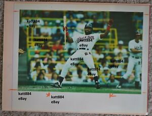 ORIGINAL PRESS PHOTO 1987 CHICAGO WHITE SOX IVAN CALDERON