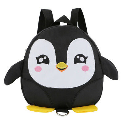 Children Baby Girls Boys Kids Cute Cartoon Penguins Backpack Toddler School Bag