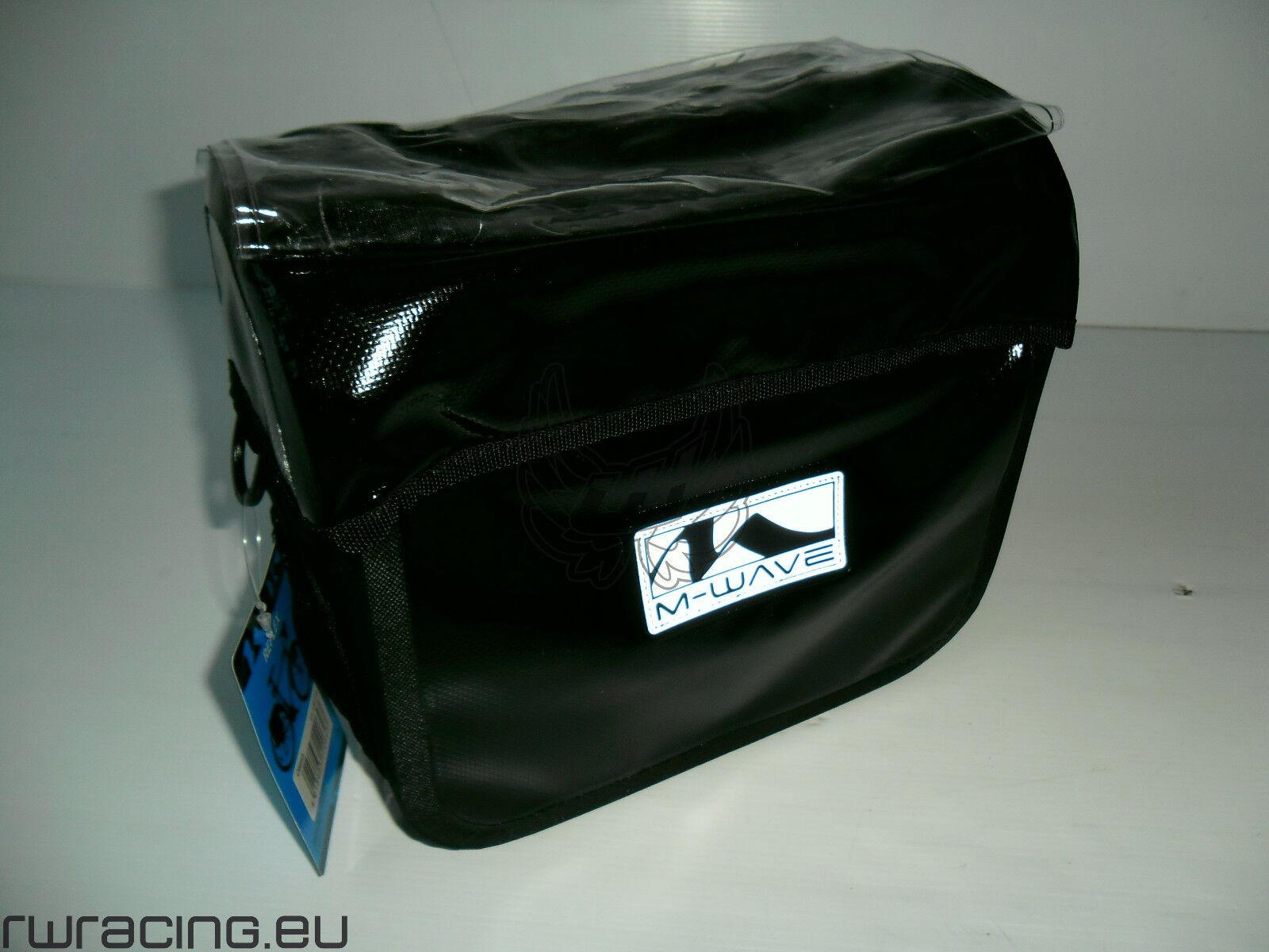 Borsa bici manubrio antipioggia 100% M-wave   bicycle handlebar bag