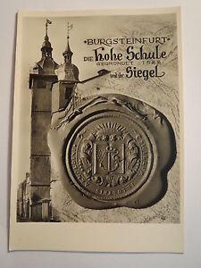 Burgsteinfurt-Die-Hohe-Schule-und-ihr-Siegel-AK