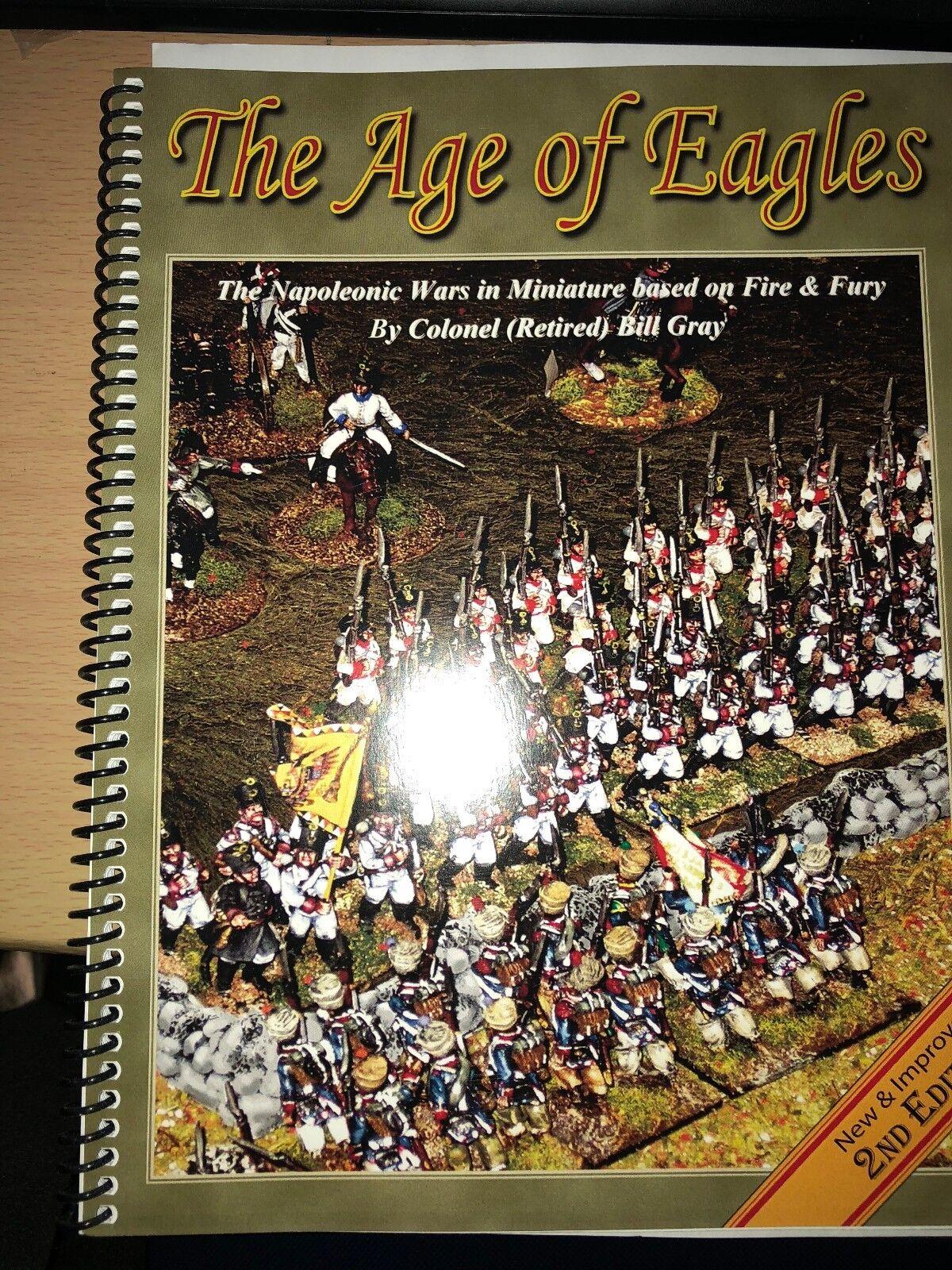 The Age Of Eagles - Napoléonienne Wargames Règles - 2ND Édition