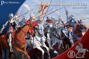 Agincourt Monté Chevaliers 1415-1429 - Perry Miniatures - 28mm - Livraison Grand Assortiment