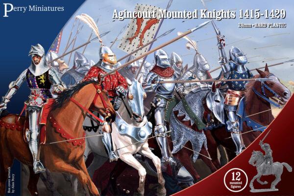 Capace Agincourt Montaggio Cavalieri 1415-1429 - Perry Miniatures - 28mm - Now