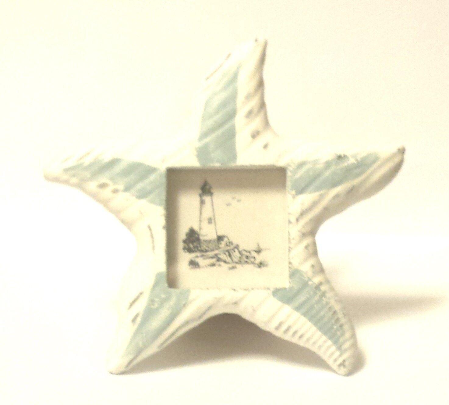 24 petits en bois étoile de mer cadres photo Bridal Shower Mariage faveurs