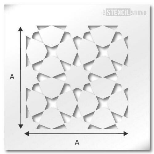 Painting Floors /& Walls Revamp old tiles 10730 Chippenham Reusable Tile STENCIL