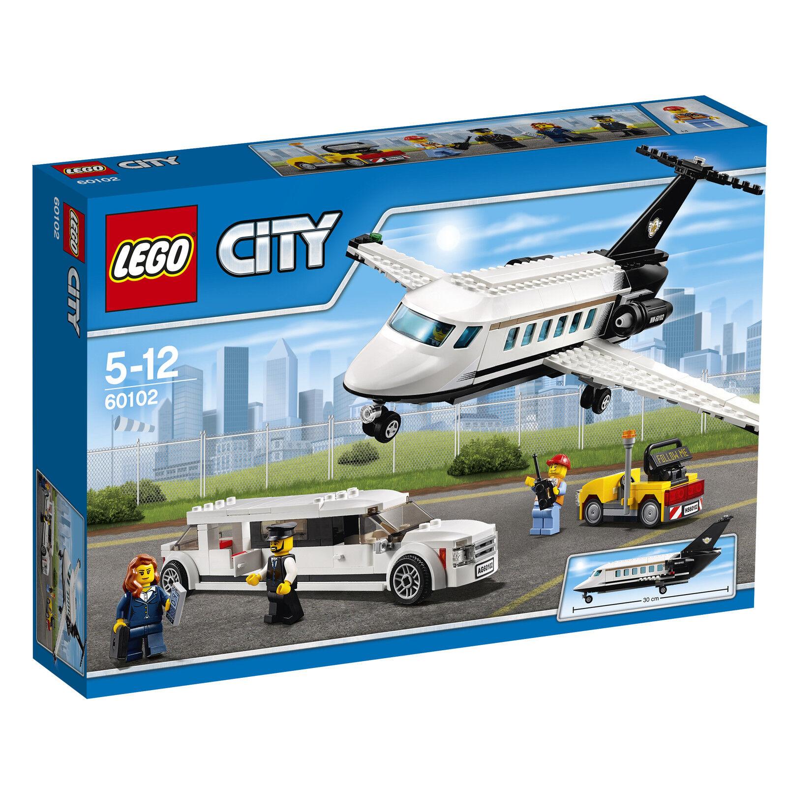 LEGO ® City 60102 Aeroporto VIP-Service NUOVO OVP _ Airport VIP Service NEW MISB NRFB