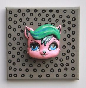 KAWAII-POP-ART-GOBBOLINO-CANVAS-ACRYLIC-PAINTING-3D-GRAFFITI-WALL-PIECE-MODERN