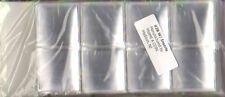 100 Frame A Coin Vinyl Flips 3.25 x 3.25 Safe Double Pocket Quality Storage NEW
