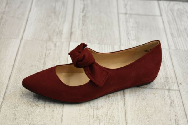 cc8fde866415a CL by Chinese Laundry Singer Fabric Pointed Toe Flats Women's 7m Cherry