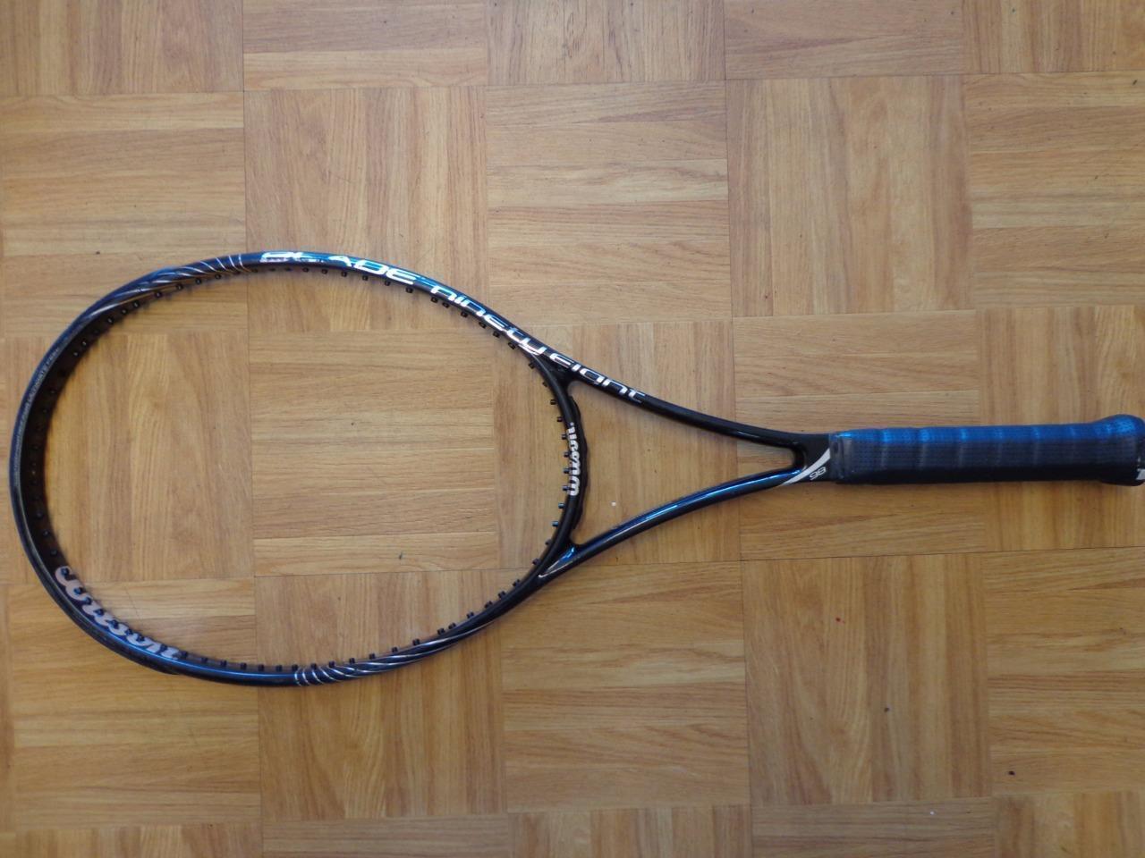 Wilson 2013 Blade 98 18x20 patrón 98 cabeza 4  1 2 Grip Tenis Raqueta  venta al por mayor barato
