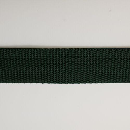 2M X 25mm 1in correa de cincha de onda de Polipropileno Varios Colores