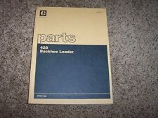 Caterpillar Cat 428 Backhoe Loader 6TC1- Factory Parts Catalog Manual Manual