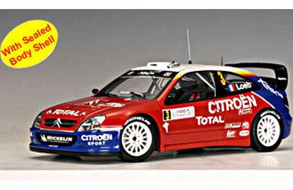 AutoArt Citroën Xsara WRC 2004 2004 2004 1 18  3 Loeb   Elena Rtuttiye de Monte autolo cae3f5