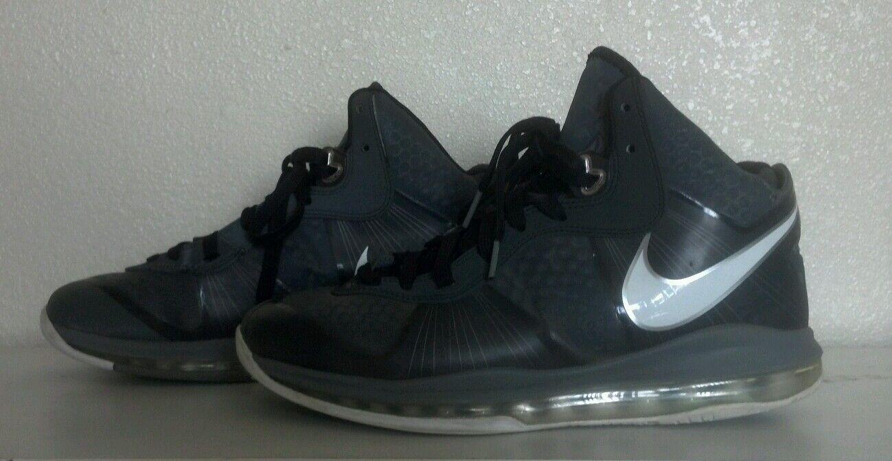2010 lebron 8 8 8 v / 2 chaussures par nike taille 8 1 / 2 429676-002 Gris  a52087