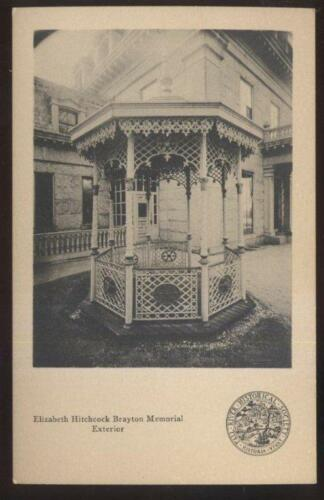 Postcard FALL RIVER,MassachusettsMA Elizabeth Brayton Memorial Gazebo 1930's?