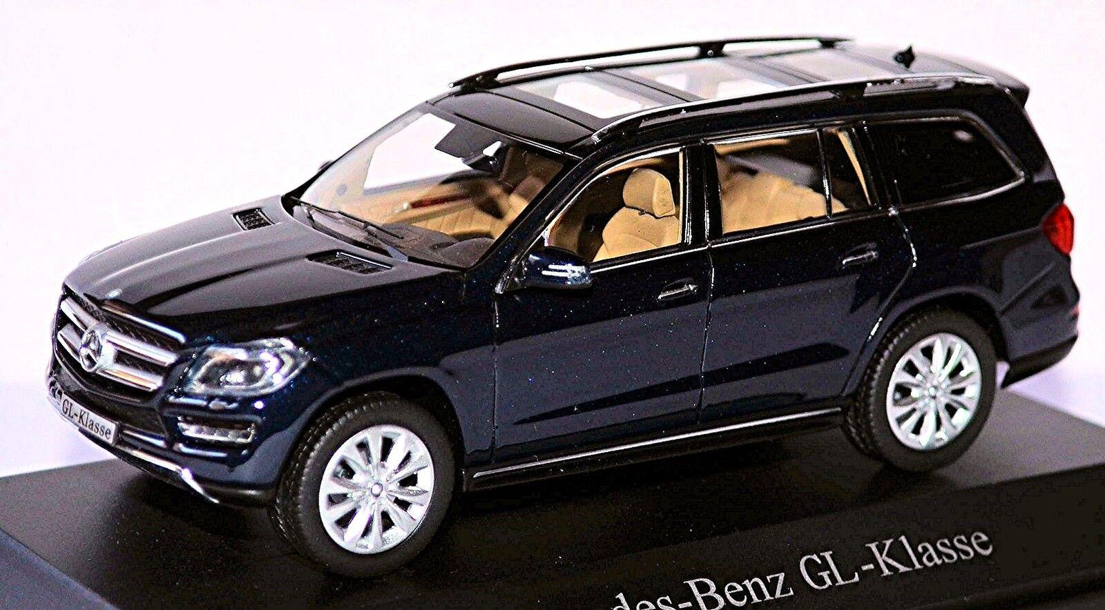 Mercedes Gl Class X166 SUV 2012-15 Cavancita Azul Metalizado Metalizado Metalizado 1 43 Norev 4f9f36