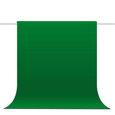 Photograph Video 3mx6m Chromakey GREEN Backdrop Muslin 100% Cotton Backdrop Set