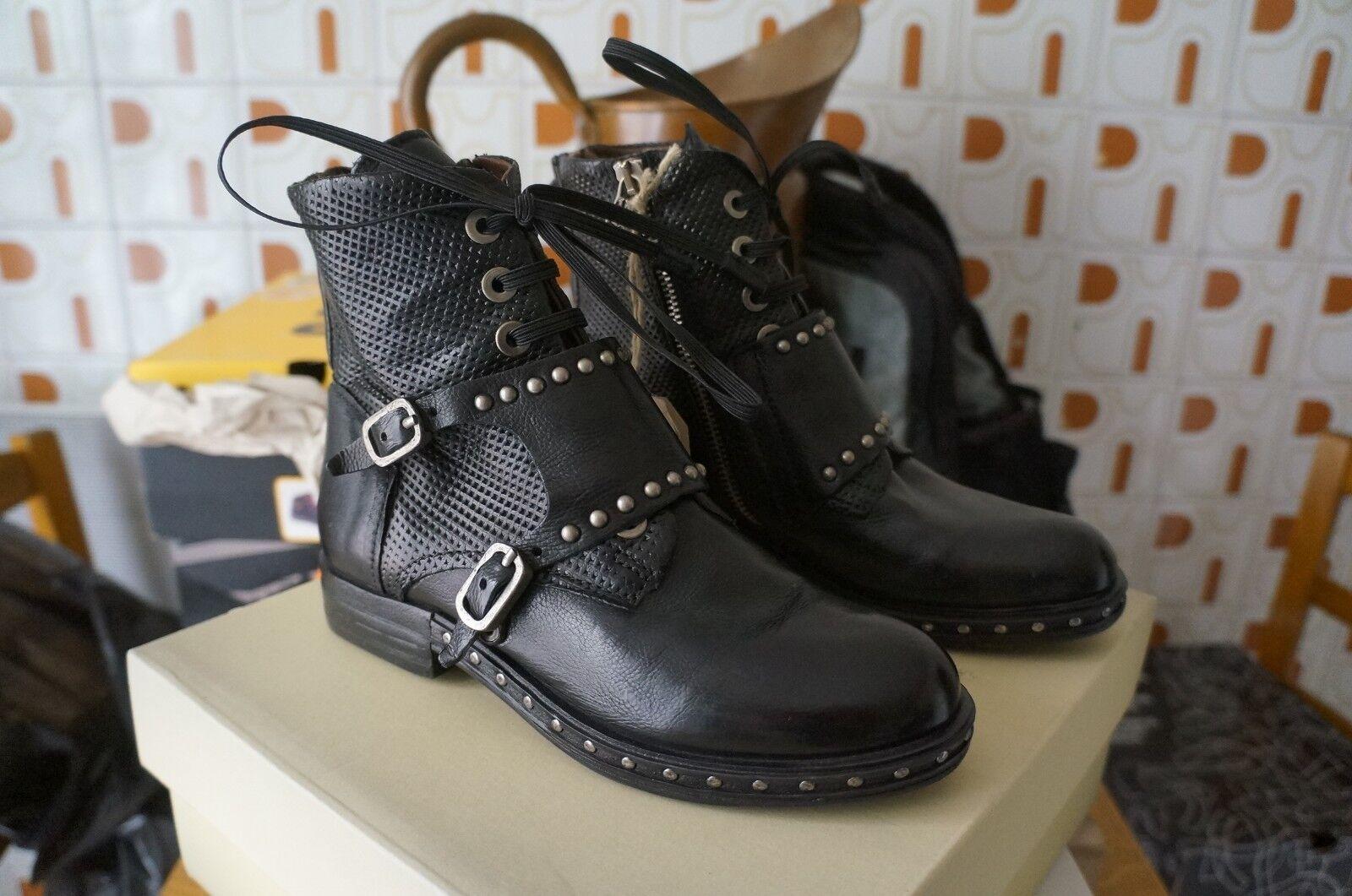 A.S.98 Studs, Bottes Motardes Femme, black (black), 36 EU