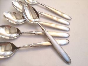 19,8cm WMF Onda 90iger Silberauflage Menuelöffel mehrere