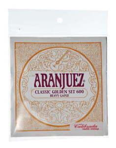 Jeu de cordes classique  Aranjuez A600 Classic Gold