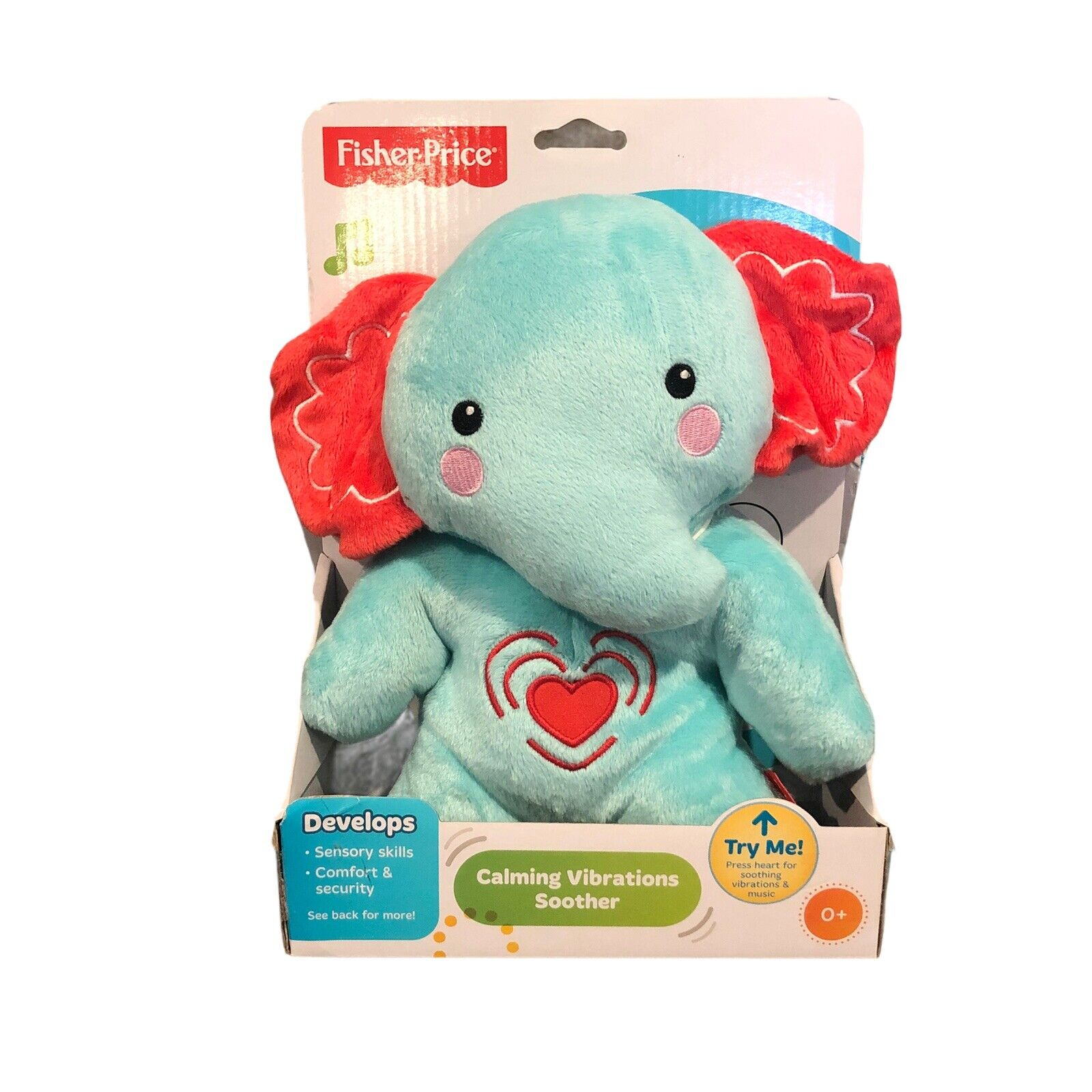 FISHER PRICE SNUGAPUPPY CALMING VIBRATIONS SOOTHER FPM17 *NEW*