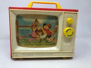 Vintage-1966-Fisher-Price-Television-FREE-SHIPPING