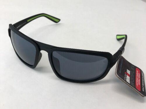 Foster Grant Ironman IF 1808 Black Sunglasses 100/% UVA /& UVB New