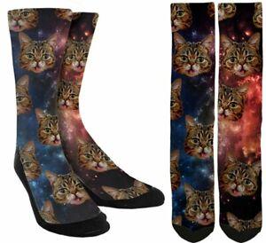 Cats-in-Space-Socks-Funny-Cat-Socks-Cat-Lovers-Cat-Gifts-Unisex-Socks-A75