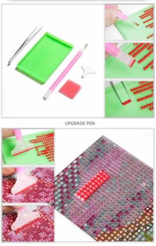 Red Arrow Aircraft Diamond Mosaic Painting Kit 30 x 40 cm