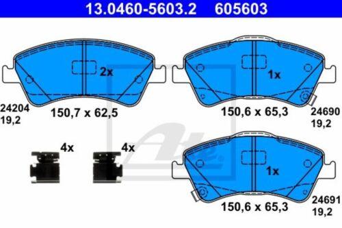 2 ATE Bremsscheiben Ø295mm Beläge vorne für Toyota Auris E15 Avensis T25