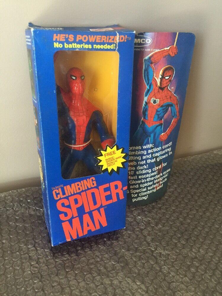 REMCO Ideal Energized Powerized Spider-Man MIB  1980 Marvel Marvel Marvel -READ- f90929