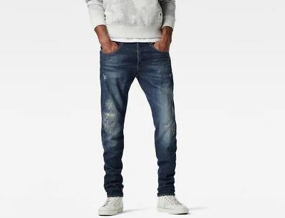G STAR RAW 3301 conique W32 L32 Rrp £ 124 Wils Jean Stretch antic restauré Jeans   eBay
