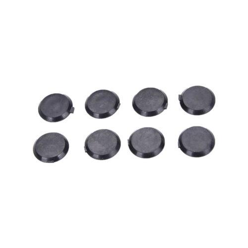 100PCS Black Hex Socket Allen Bolt Screw Nut Hexagon Head Cover Cap Protector LK